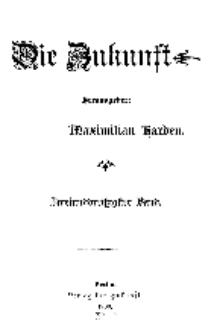 Die Zukunft, 7. Juli, Bd. 32.