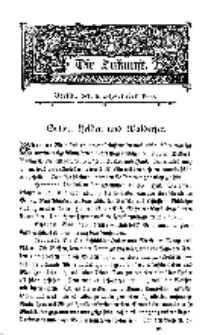 Die Zukunft, 8. September, Bd. 32.
