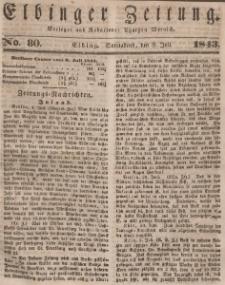 Elbinger Zeitung, No. 80 Sonnabend, 8. Juli 1843