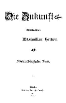 Die Zukunft, 3. Januar, Bd. 42.