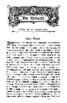 Die Zukunft, 10. Januar, Bd. 42.