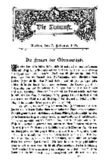 Die Zukunft, 7. Februar, Bd. 42.