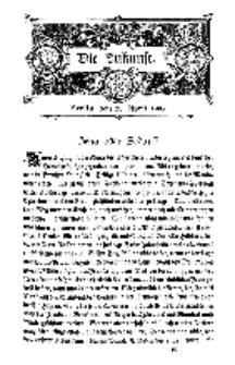 Die Zukunft, 25. April, Bd. 43.