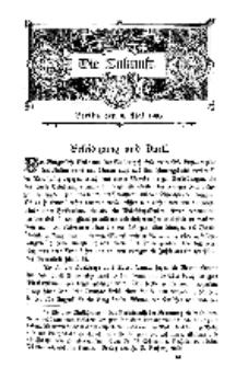 Die Zukunft, 9. Mai, Bd. 43.