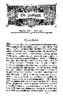 Die Zukunft, 7. Mai, Bd. 47.