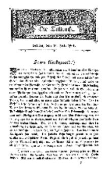 Die Zukunft, 16. Juli, Bd. 48.