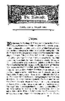 Die Zukunft, 6. August, Bd. 48.