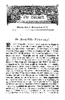 Die Zukunft, 3. September, Bd. 48.