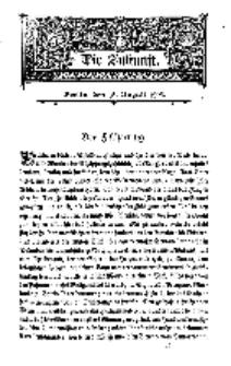 Die Zukunft, 15. August, Bd. 44.
