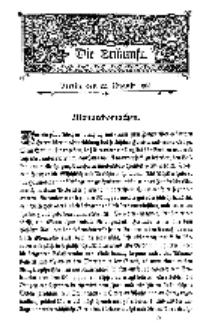 Die Zukunft, 22. August, Bd. 44.