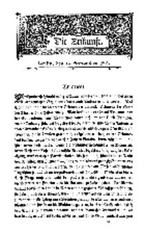 Die Zukunft, 19. September, Bd. 44.