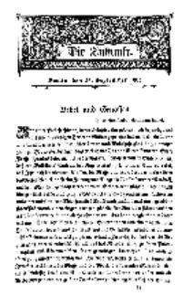 Die Zukunft, 26. September, Bd. 44.