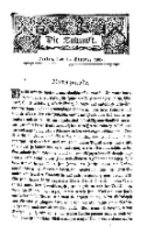 Die Zukunft, 15. October, Bd. 25.