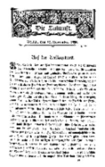 Die Zukunft, 12. November, Bd. 25.