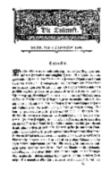 Die Zukunft, 9. September, Bd. 28.