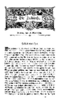 Die Zukunft, 19. Mai, Bd. 31.