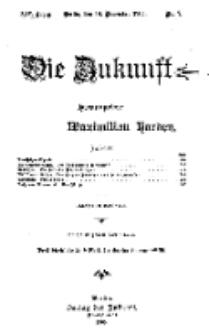 Die Zukunft, 18. November, Jahrg. XIV, Bd. 53, Nr 7.