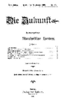 Die Zukunft, 13. Januar, Jahrg. XIV, Bd. 54, Nr 15.
