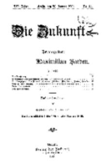 Die Zukunft, 20. Januar, Jahrg. XIV, Bd. 54, Nr 16.