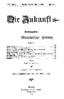 Die Zukunft, 24. März, Jahrg. XIV, Bd. 54, Nr 25.
