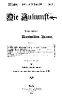 Die Zukunft, 31. März, Jahrg. XIV, Bd. 54, Nr 26.