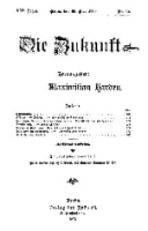 Die Zukunft, 30. Mai, Jahrg. XVI, Bd. 63, Nr 35.
