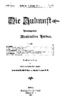 Die Zukunft, 4. Februar, Jahrg. XIX, Bd. 74, Nr 19.