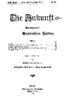 Die Zukunft, 11. Februar, Jahrg. XIX, Bd. 74, Nr 20.