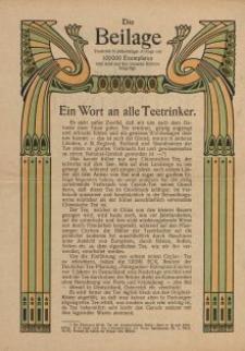 Die Beilage Theodor Thomas [ulotka]