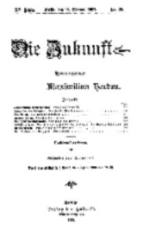 Die Zukunft, 16. Februar, Jahrg. XV, Bd. 58, Nr 20.