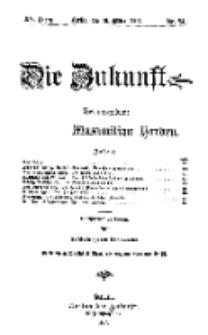 Die Zukunft, 16. März, Jahrg. XV, Bd. 58, Nr 24.