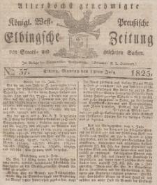 Elbingsche Zeitung, No. 57 Montag, 18 Juli 1825