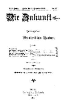 Die Zukunft, 20. Dezember, Jahrg. XXII, Bd. 85, Nr 12.