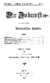 Die Zukunft, 17. Januar, Jahrg. XXII, Bd. 86, Nr 16.