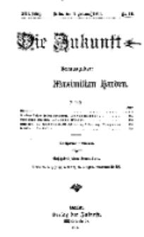 Die Zukunft, 7. Februar, Jahrg. XXII, Bd. 86, Nr 19.