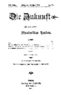 Die Zukunft, 18. April, Jahrg. XXII, Bd. 87, Nr 29.