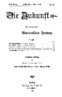 Die Zukunft, 30. Mai, Jahrg. XXII, Bd. 87, Nr 35.