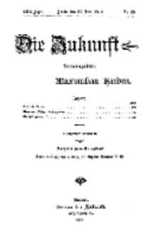Die Zukunft, 27. Juni, Jahrg. XXII, Bd. 87, Nr 39.