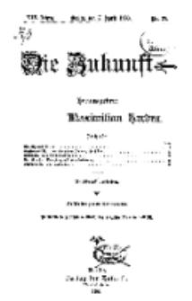 Die Zukunft, 7. April, Jahrg. XIV, Bd. 55, Nr 27.