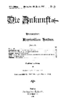 Die Zukunft, 28. April, Jahrg. XIV, Bd. 55, Nr 30.