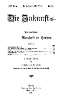 Die Zukunft, 19. Mai, Jahrg. XIV, Bd. 55, Nr 33.