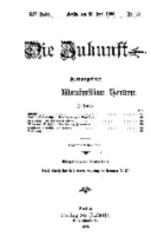 Die Zukunft, 30. Juni, Jahrg. XIV, Bd. 55, Nr 39.