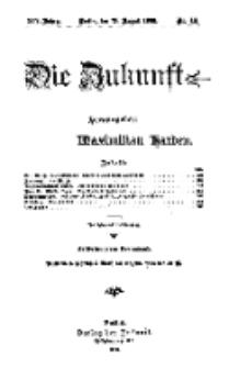 Die Zukunft, 18. August, Jahrg. XIV, Bd. 56, Nr 46.