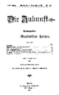 Die Zukunft, 1. September, Jahrg. XIV, Bd. 56, Nr 48.