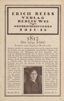 Erich Reiss Verlag [ulotka]