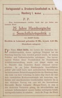 Verlagsanstalt u. Druckerei-Gesellschaft m. b. H. [ulotka]