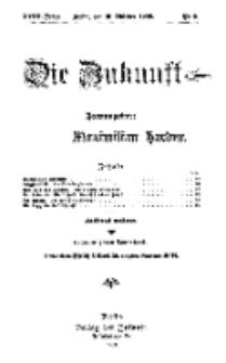 Die Zukunft, 16. Oktober, Jahrg. XVIII, Bd. 69, Nr 3.