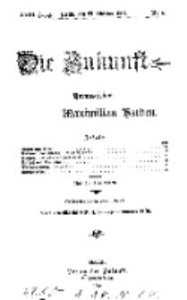 Die Zukunft, 23. Oktober, Jahrg. XVIII, Bd. 69, Nr 4.