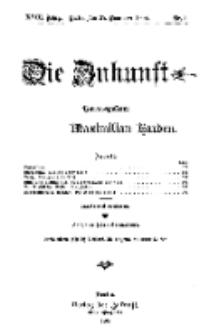 Die Zukunft, 27. November, Jahrg. XVIII, Bd. 69, Nr 9.