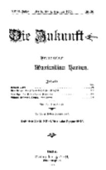 Die Zukunft, 4. Dezember, Jahrg. XVIII, Bd. 69, Nr 10.